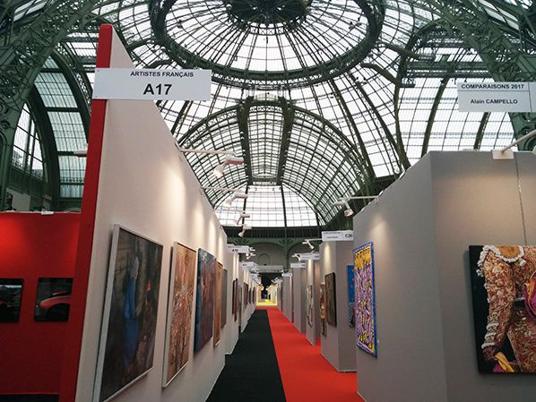 artiste français salon au grand palais paris