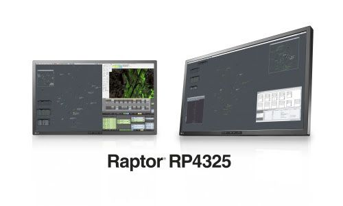 Primary Control Monitor Developed Specifically for ATC Raptor RP4325 EIZO