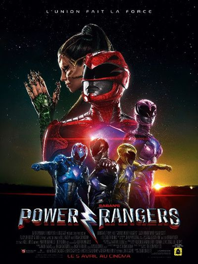 power ranger poster