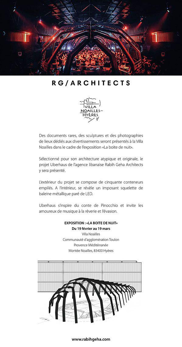 exposition boite de nuit villa noailles architecture hyeres