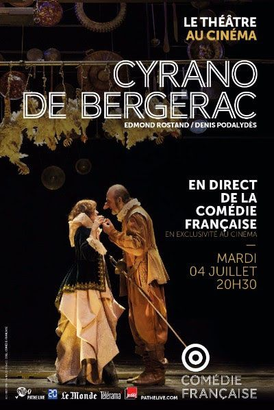 cyrano bergerac specatcle theatre cinema comedie francaise
