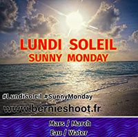 lundi soleil mars eau sunny monday march water