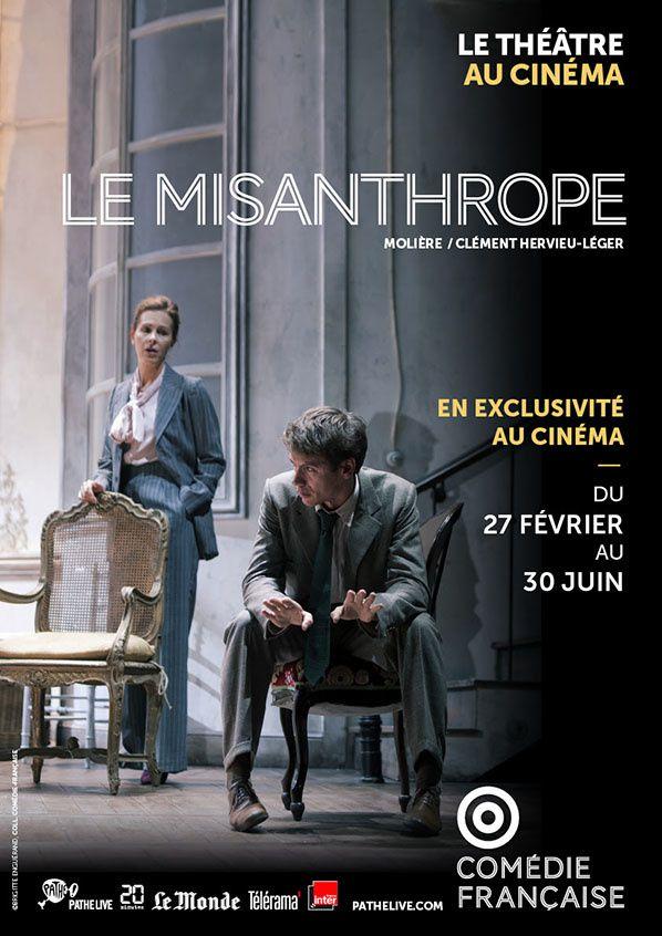 Vivez La Comédie Française au cinéma avec les reprises du Misanthrope !