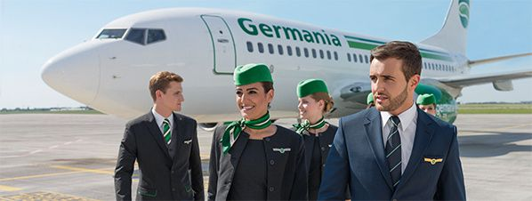 germania flight crew