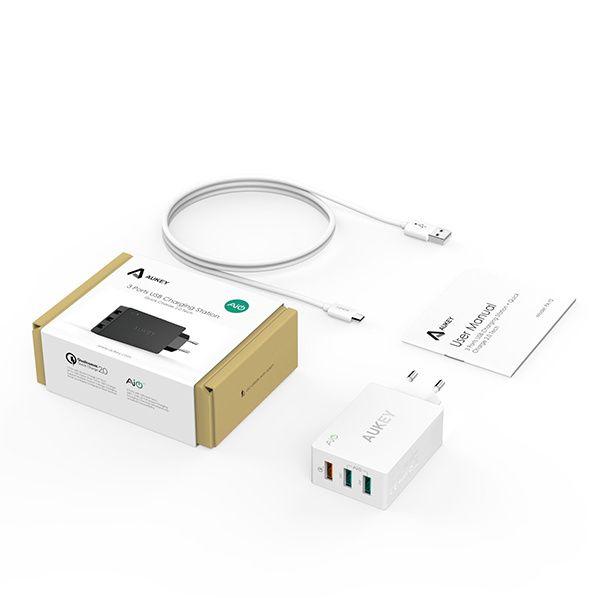 Concours : gagnez un quick chargeur USB
