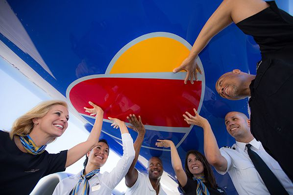 Southwest Airlines' Bold Look; Same #SouthwestHeart (PRNewsFoto/Southwest Airlines)      Southwest Airlines logo. (PRNewsFoto/SOUTHWEST AIRLINES)