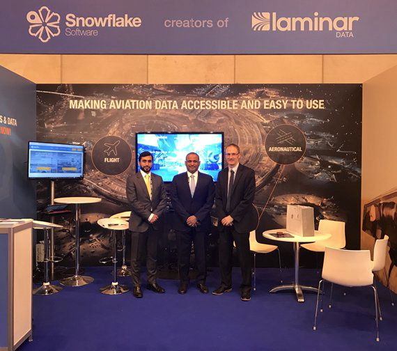 snowflake software world atm congress madrid gcaa