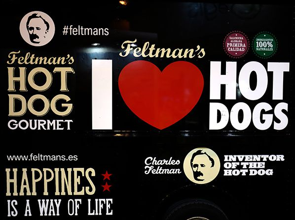 hot dog gourmet love food truck