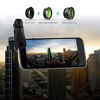 objectif wide angle aukey