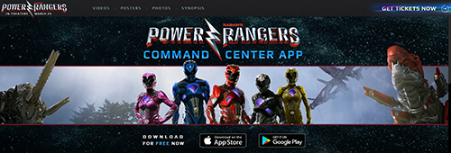 application power rangers