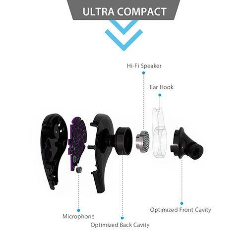 design ergonomique oreillettes bluetooth aukey