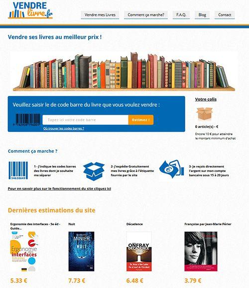 vendre livre