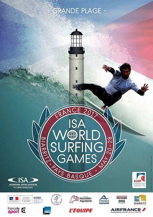 biarritz france isa world surfing games