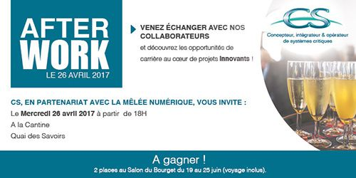 afterwork recrutement toulouse groupe cs