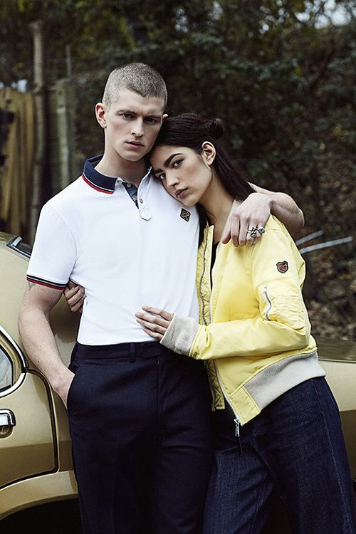 COUPLE_POLO_WHITE_BLOUSON_LIME