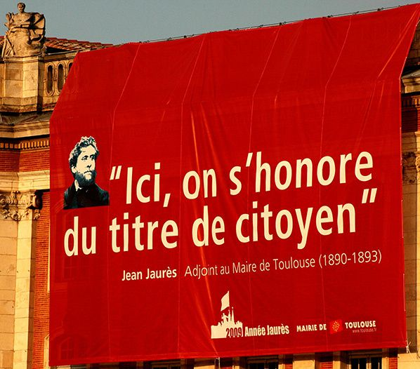 toulouse honore jean Jaures