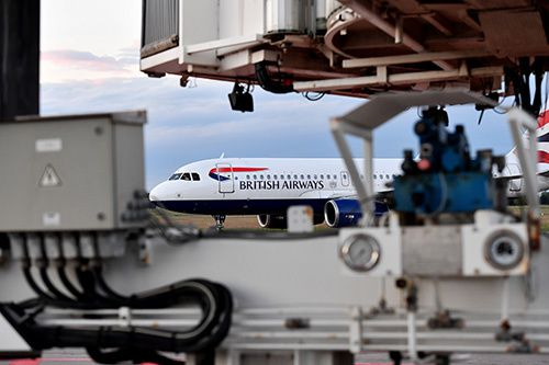 retour de british airways à montpellier