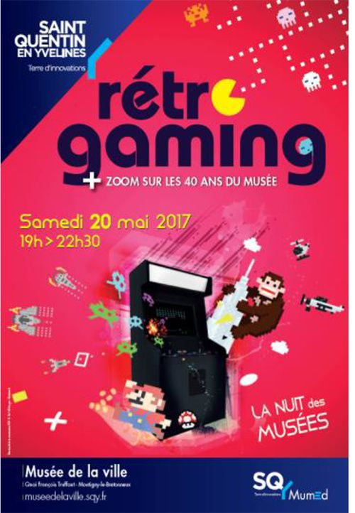 retro gaming saint quentin yvelines