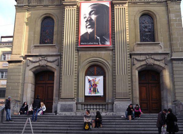 La Suisse rend hommage à Martn Luther King