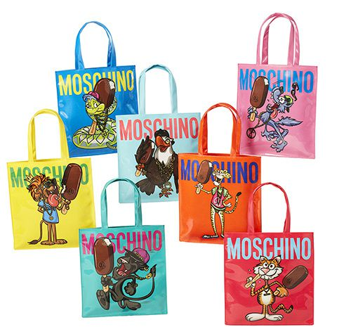 magnum moschino tote bag