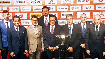 euroleague basketbal final in istambul with turkish airlines