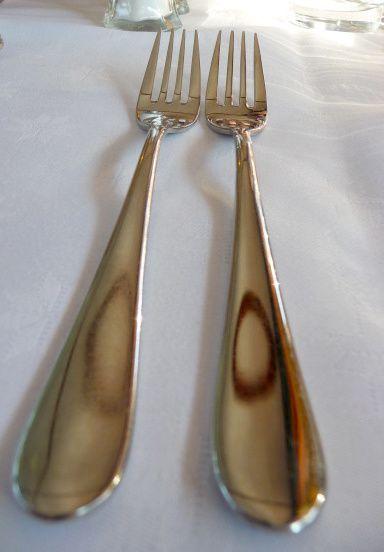 duo de fourchettes en argent