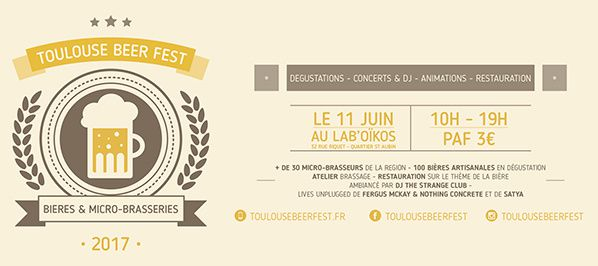 affiche toulouse beer fest