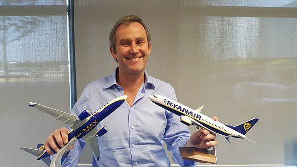 Ryanair's Chief Operations Officer Mick Hickey
