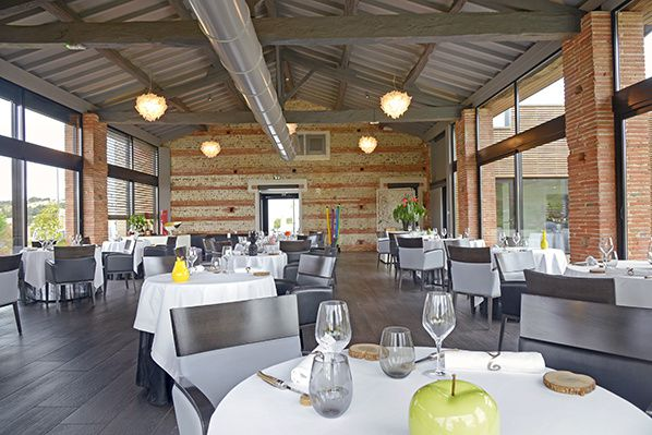 salle restaurant en marge