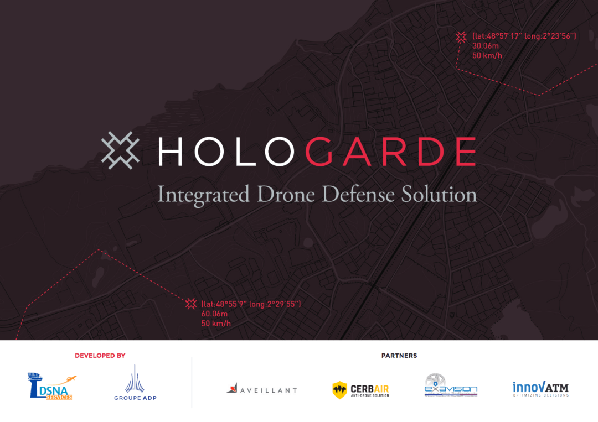 Hologarde integrated drone defence solution