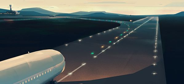 adb safegate airfield led lighting concept atm airport
