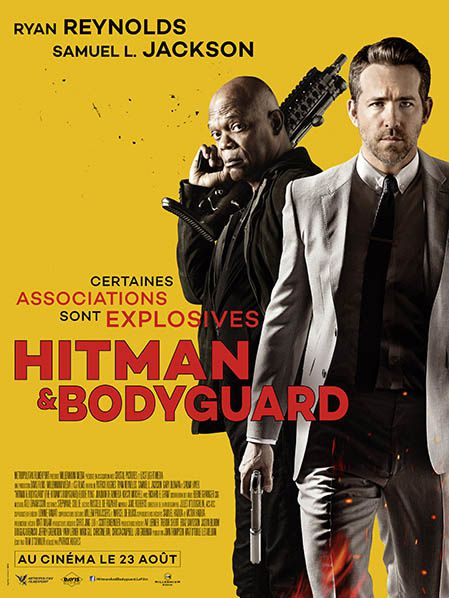affiche exclu exclusivité france film hitman bodyguard