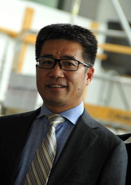 Huabing Wang, CEO of Casil Europe