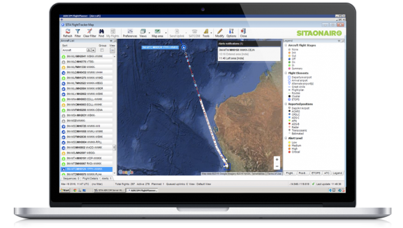 FlightTracker product image sitaonair aircraft flight tracker