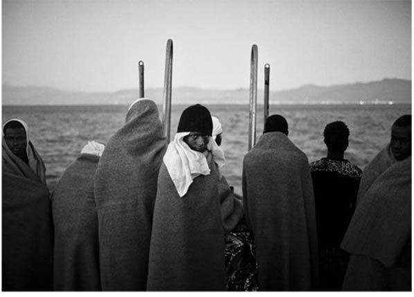 exposition photo Edouard Elias Giancarlo Ceraudo migrants centre culturel italien paris