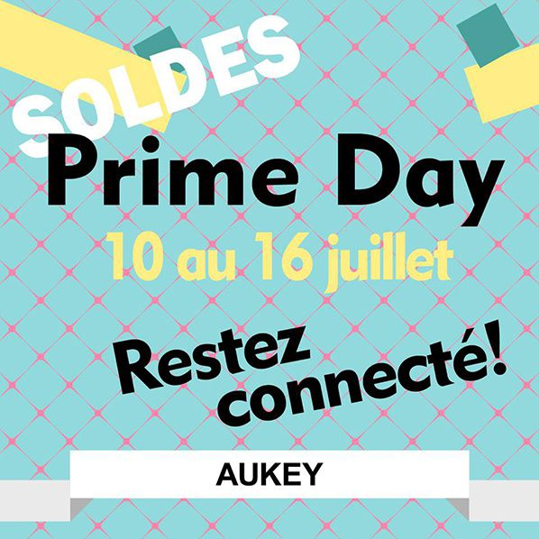 soldes promotion aukey prime day