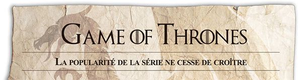 etude serie fantastique game of throne