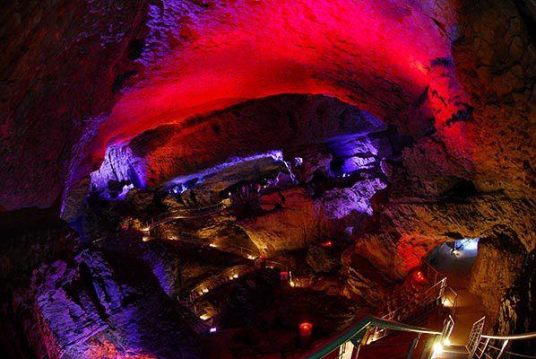 nocture grotte mas d'azil ariege