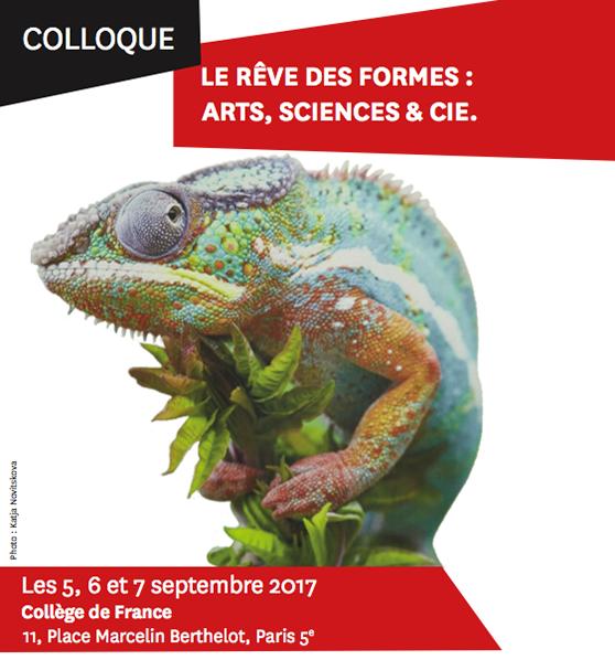 LE FRESNOY   Colloque au Collège de France : 5, 6 et 7 septembre 2017 - Le rêve des dormes : Arts, Sciences et Cie.