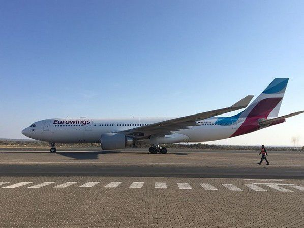 eurowings a 330 airbus airplane