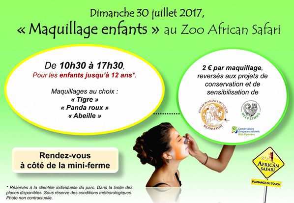actualite animation zoo african safari plaisance du touch haute garonne occitanie