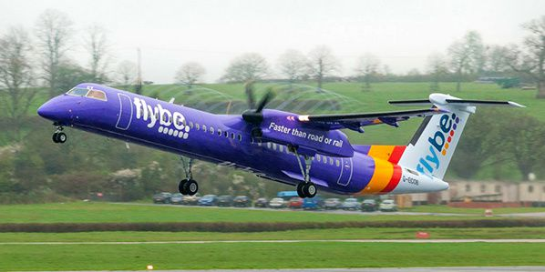 flybe low cost regional airline facebook page