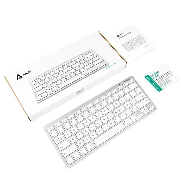 kit  Clavier Bluetooth Sans Fil (AZERTY)  Aukey
