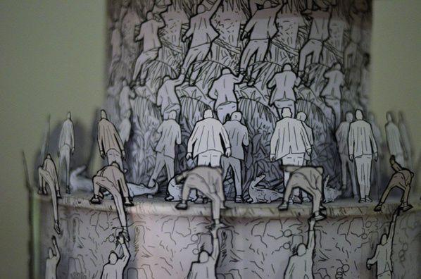 hors cases exposition art contemporain Ruppert et Mulot