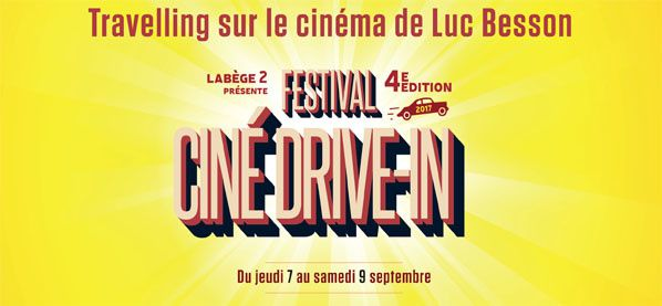 Festival Ciné Drive in Labège 2 besson