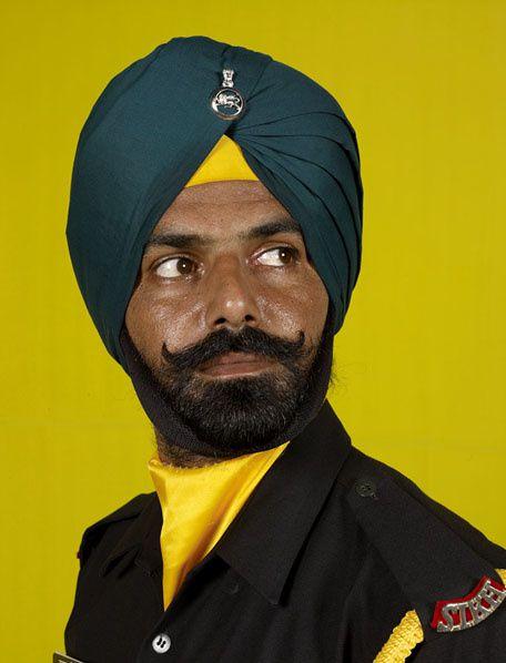 Sikh regiment of India, 2010  ©C.Fréger