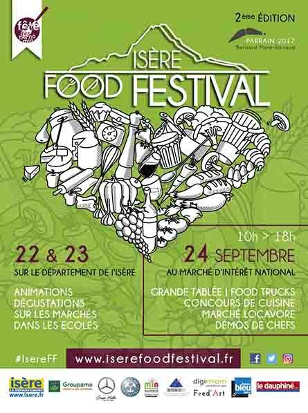 flyer isere food festival