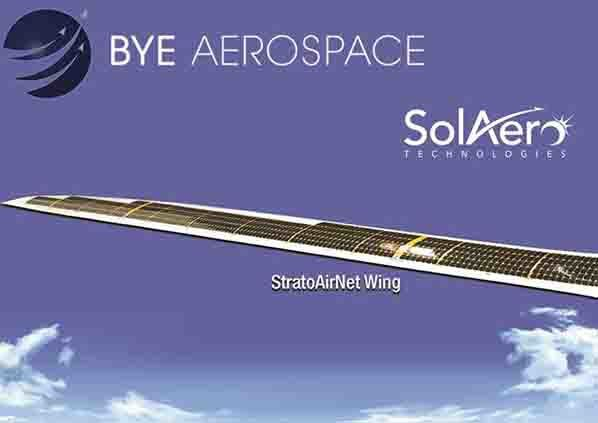 SolAero  Delivery of the first solar wing for Bye Aerospace's StratoAirNet
