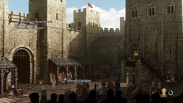 philip disovers Winchester's courtyard