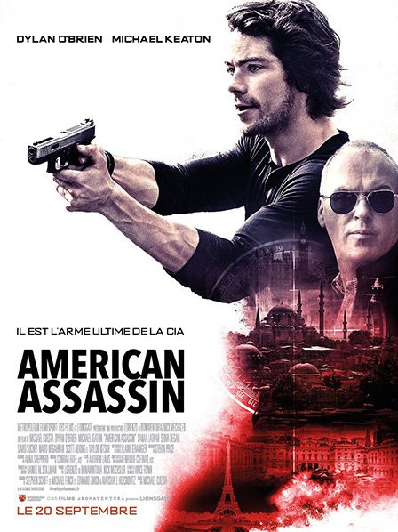affiche film action cinema american assassin